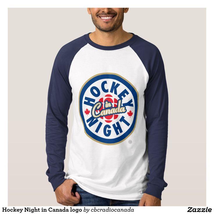 Noite do hóquei no logotipo de Canadá T-shirts