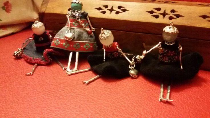 Foto di gruppo bamboline
