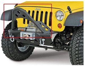 smittybilt jeep front bumper stinger | Smittybilt-76817-2007-12-Jeep-Wrangler-XRC-M-O-D-Front-Bumper-Modular ...
