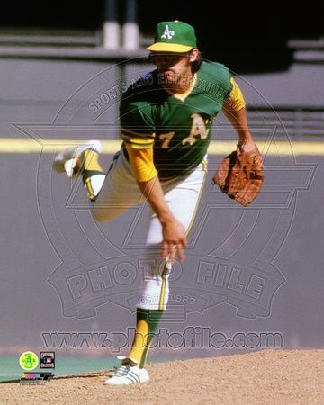 Oakland Athletics - Catfish Hunter Photo