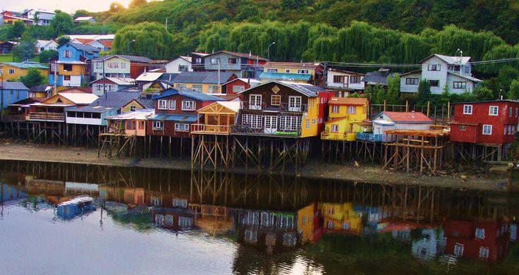 Palafitos de Gamboa - Castro, Chile