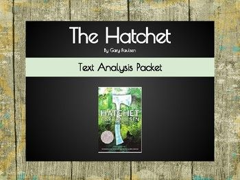 Use this packet as a tool while teaching the book The Hatchet!  Packet has additional resources for students who have access to iPads/Laptops.  Skills/Topics practiced in the packet include: The Plot Diagram, Setting, New Vocabulary, Character Analysis, Character Change, and Critical thinking and analysis about the text.