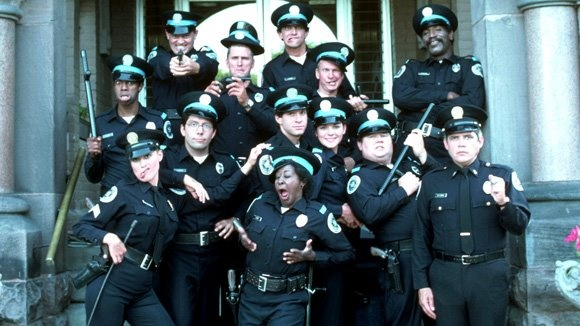 'Police Academy Series' — Michael Winslow, Leslie Easterbrook, David Graf, Bruce Mahler, Marion Ramsey, Steve Guttenberg, Kim Cattrall, Donovan Scott, Bubba Smith and G. W. Bailey and many more!