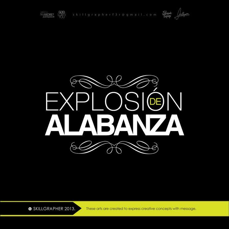 EXPLOSIÓN DE ALABANZA LOGO