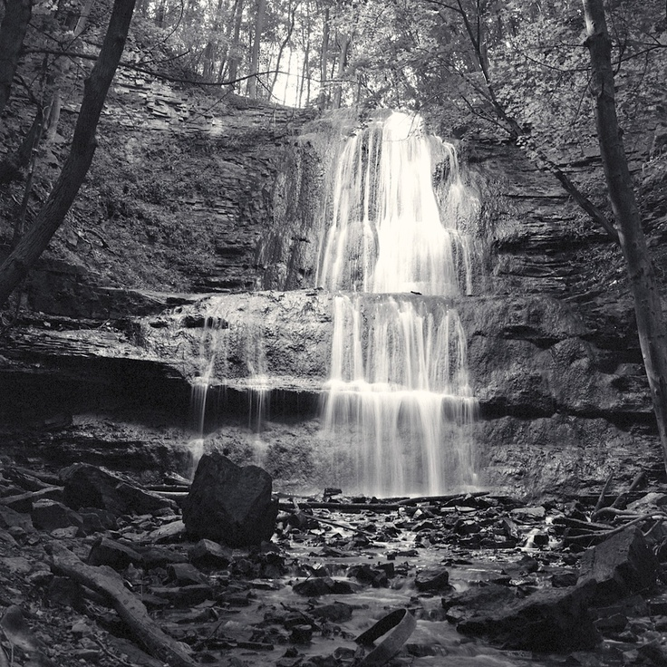 Sherman Falls, Ancaster Ontario, Canada.