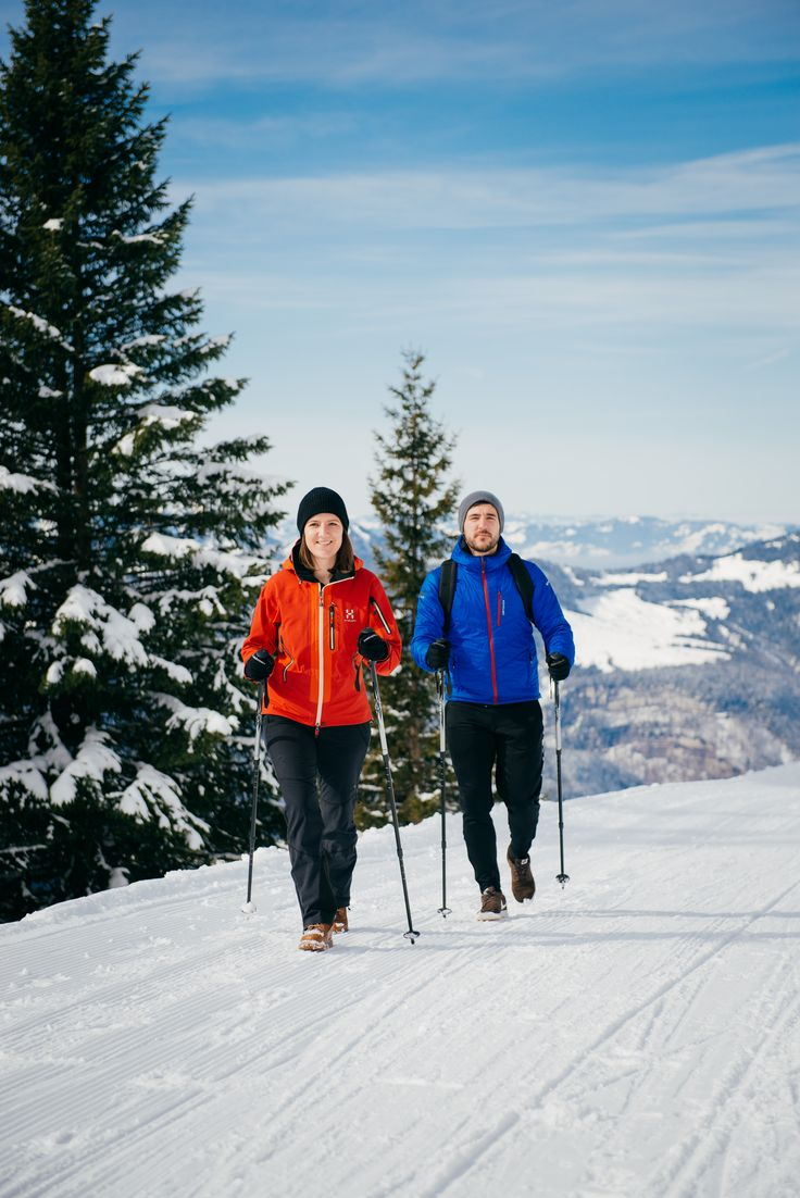 culinary winter hikes in the Bregenzerwald #visitvorarlberg #myvorarlberg #bregenzerwald