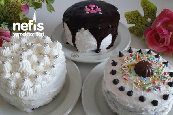 Kase İle Yapılan Yaş Pasta