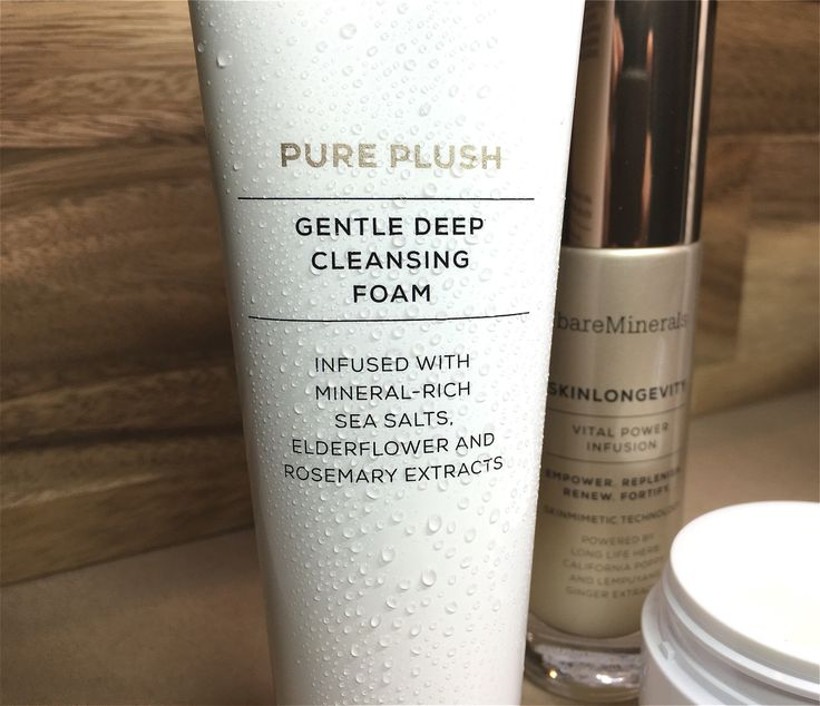 Bare minerals pure plush cleanser. Skinsorials