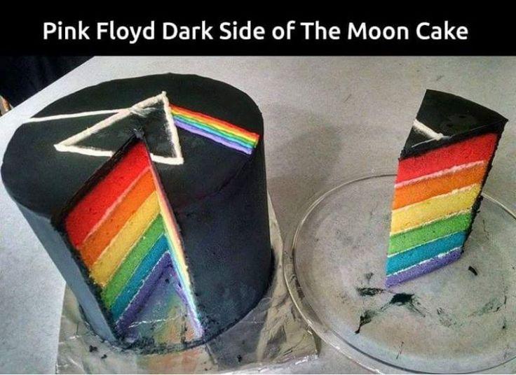 El pastel que amarán los fans de Pink Floyd