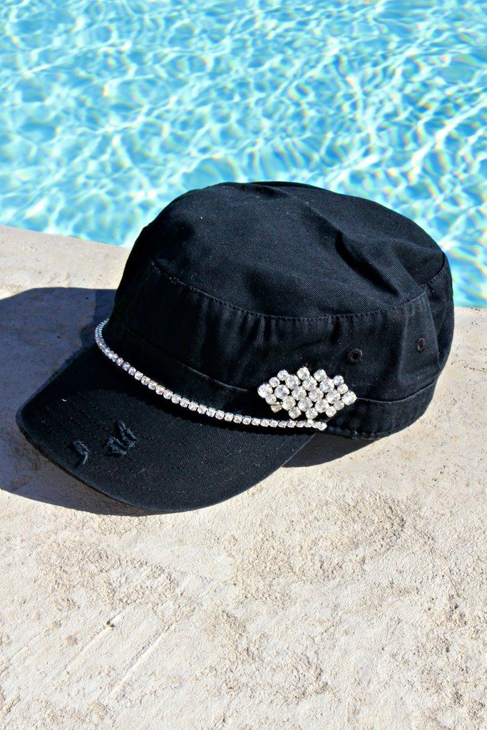 d3313addcdf Crown and Chain Military Hat