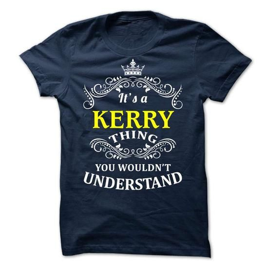KERRY it is - #homemade gift #fathers gift. PURCHASE NOW => https://www.sunfrog.com/Valentines/-KERRY-it-is.html?68278