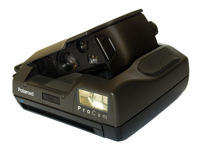 Polaroid Spectra ProCam (three-quarter view front) by Timmy Toucan, via Flickr