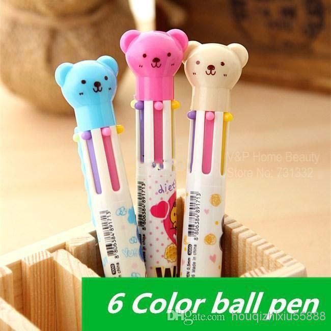 Wholesale 30 pcs / Lot stylos à bille Cute Teddy Bear bureau Nouveauté Papeterie Narguilé stylo Caneta fournitures accessoires scolaires, Free shipping, $0.84/Pièce | DHgate Mobile