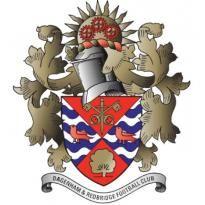 Dagenhem & Redbridge FC Logo. Get this logo in Vector format from http://logovectors.net/dagenhemredbridge-fc/