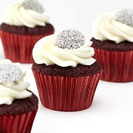 Red Velvet Cupcakes   4 Count