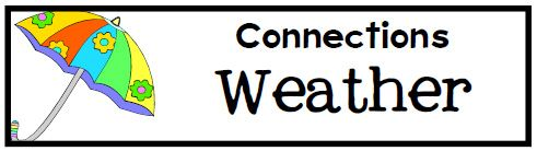 Connections ~ Weather Lesson Plans, Unit Study, Lapbook, Printables
