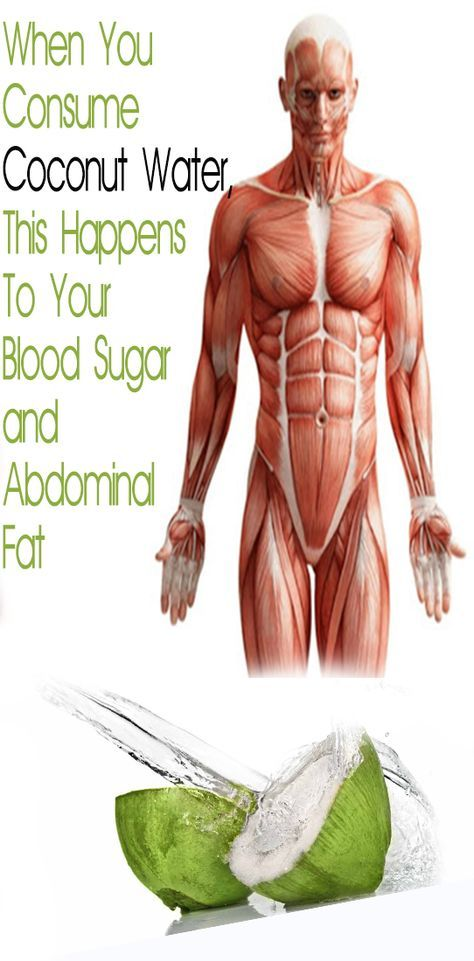 When You Consume Coconut Water, This Happens To Your Blood Sugar and Abdominal Fat – Let's Tallk