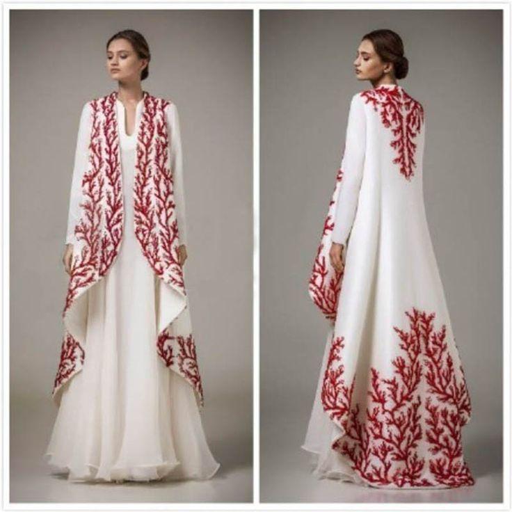 Embroidery Arabic Moroccan Kaftan 2016 Turkish Women Formal Evening Gowns Long Sleeve Dubai Abaya Muslim Prom