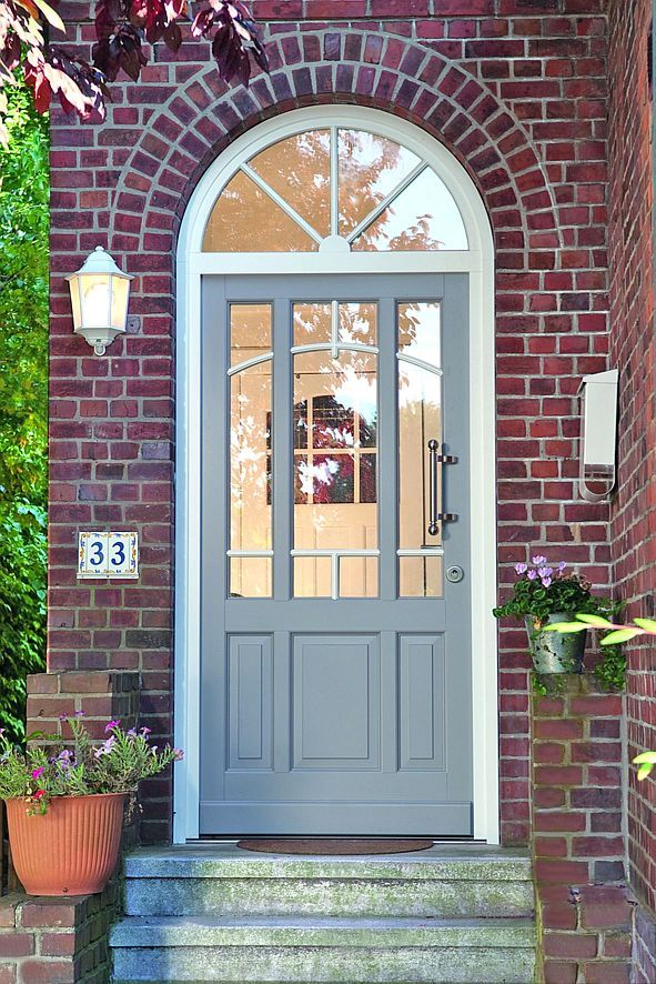 Haustüren weiß grau  Die besten 25+ Haustüren Ideen auf Pinterest | stained Haustür ...