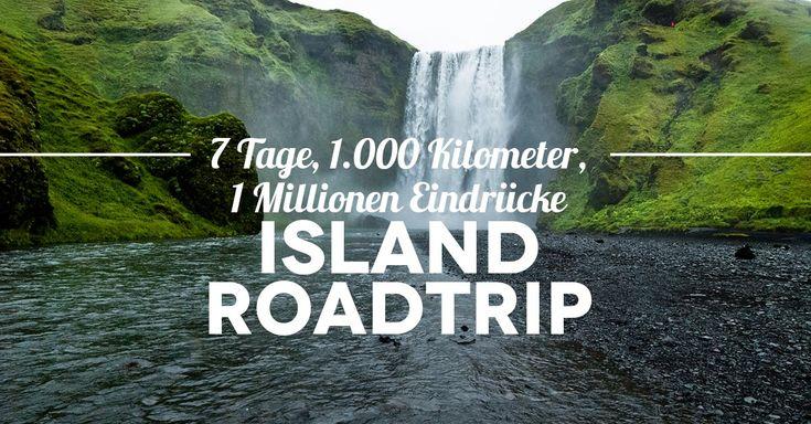 7 Tage Island Roadtrip: Erfahrungsbericht mit Tipps zur Route, Planung und Mini Island Packliste. Juni ist beste Reisezeit für eine Rundreise durch Island.
