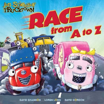 47 best books about cars and trucks images on pinterest picture cover image for race from a to z written by jon scieszka characters and fandeluxe Gallery