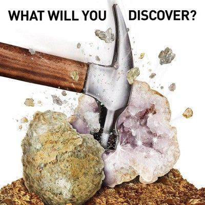 National Geographic Break Your Own Geode Kit