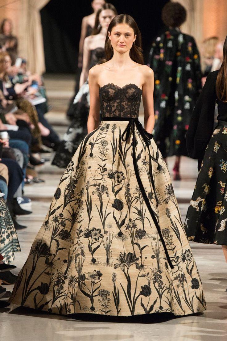 Oscar De La Renta Autumn/Winter 2018 Ready To Wear | British Vogue