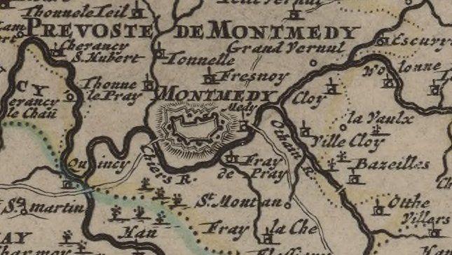Le Duché de Luxembourg divisé en quartier walon (sic) et allemand... / par le Sr Sanson, ,...