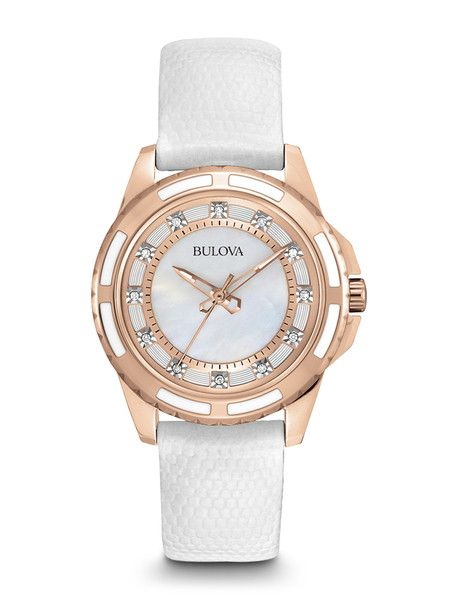 Bulova 98P119 Women's Diamond Watch | Bulova