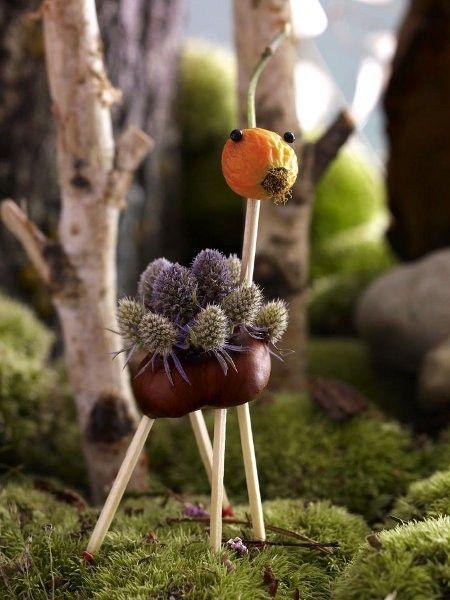 67 besten herbst mit kindern naturmaterialien diy bilder for Mein kleiner garten dekoration und kreatives