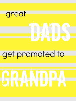 Nice Father's Day idea for a new grandfather! Get your Father's Day essentials at Walgreens.com.