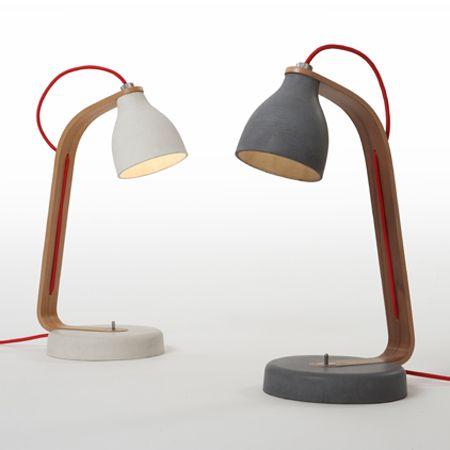 Concrete lights - concrete armatures | Betonarmaturen - beton-lamp