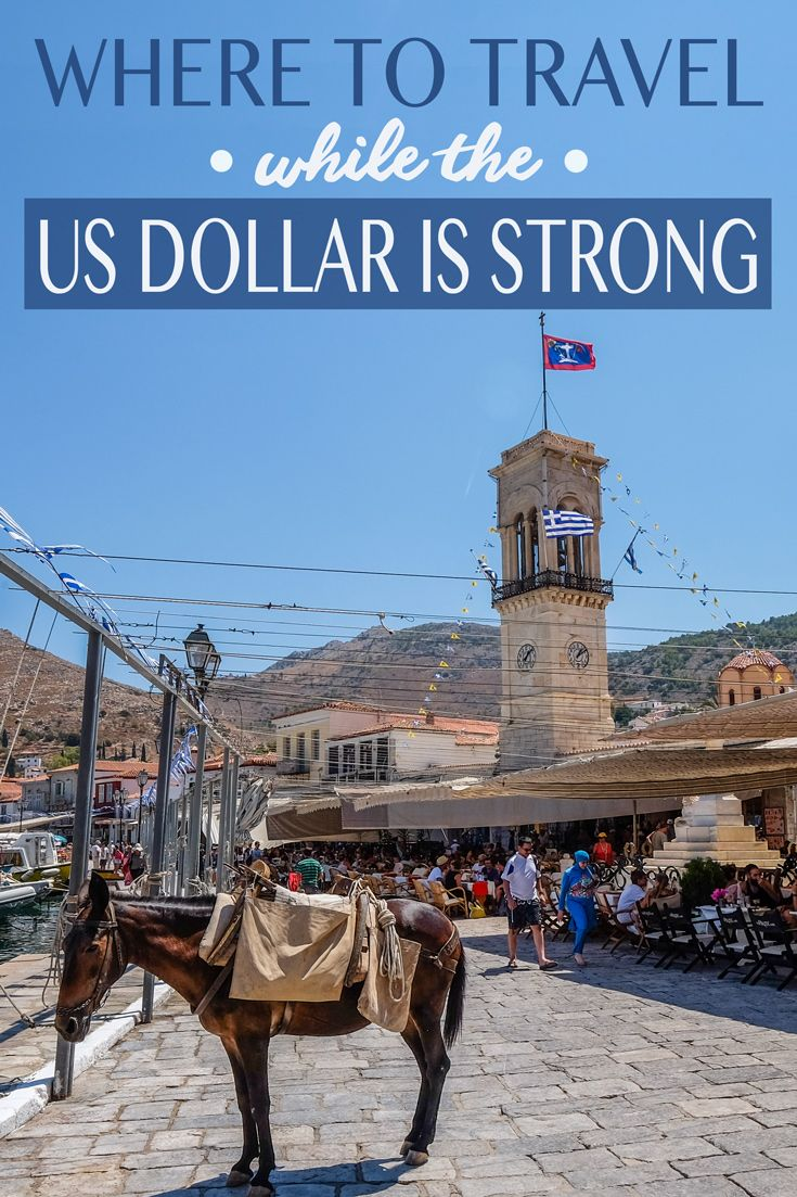 The US Dollar is peaking at the moment, which is great news for Americans travelers trying to decide where to travel! For years we've had to watch our wallets in the expensive cities like Stockholm, Paris and Sydney—but 2015 saw the dollar's value steadily increase. Now a trip to Europe is teetering on affordable! Here's my list of where to travel while the U.S. dollar is still strong!