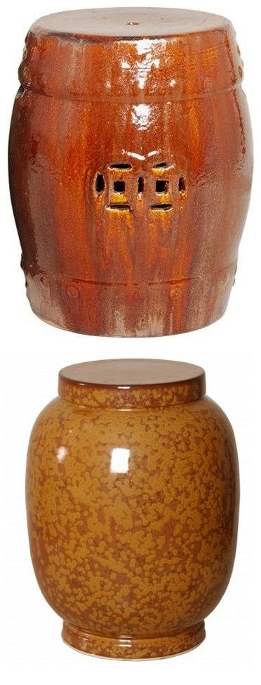 brown garden stool brown ceramic stools brown porcelain stool brown ceramic stool