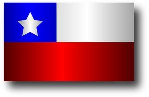 PublicDomainVectors.org-Vector bandeira chilena