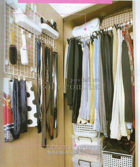как правильно складывать одежду и хранить вещи в шкафах