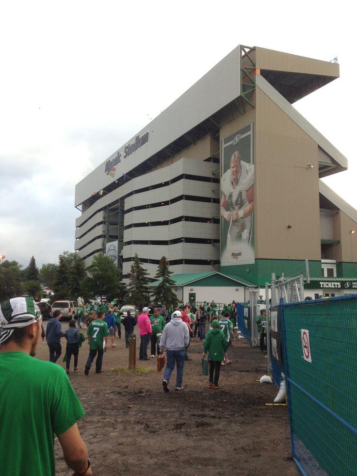 Mosiac Stadium Regina Saskatchewan