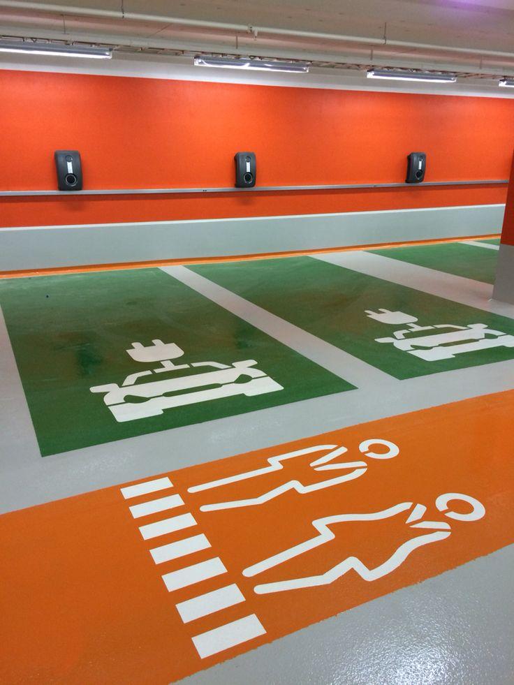 Carpark with Deckshield at Mall of Scandinavia.
