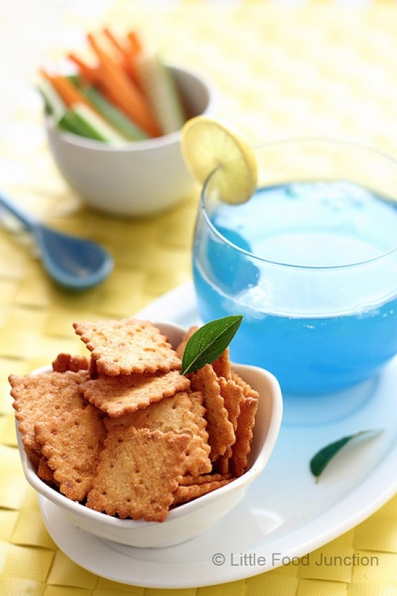 how to make blue curacao mocktail