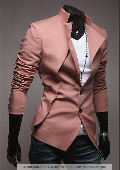 Men's Sexy Slim Fit AVANT GARDE Blazer