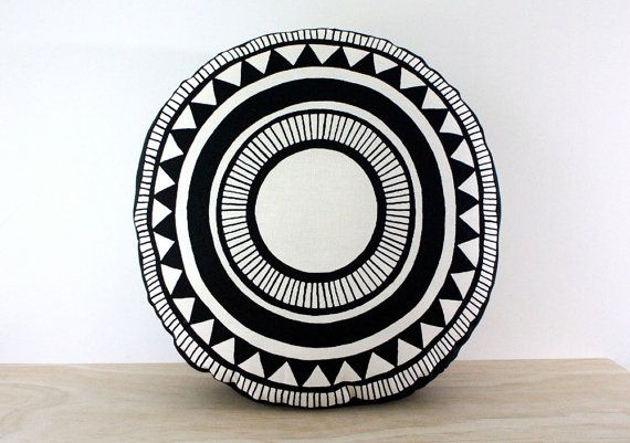 Hey, I found this really awesome Etsy listing at https://www.etsy.com/au/listing/184437481/santa-monica-round-cushion-47cm-hand