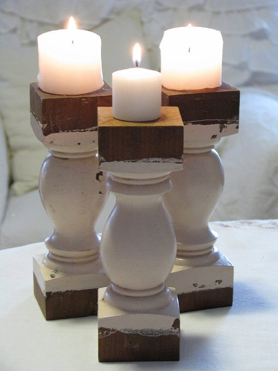 39 Best Wood Spindle Craft Ideas Images On Pinterest