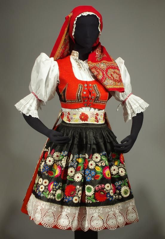 CZECH & SLOVAK FOLK COSTUMES Kyjov Region