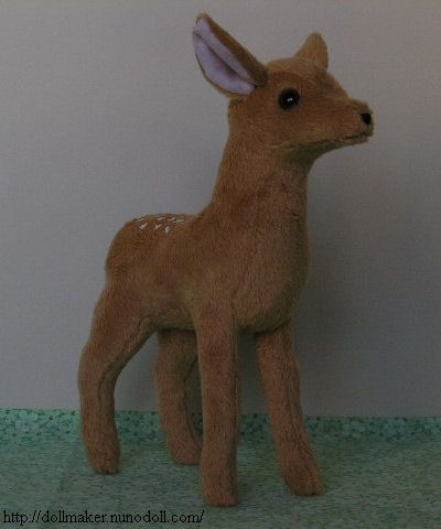 fawn pattern and instructions from Nuno LIfe | felt ...