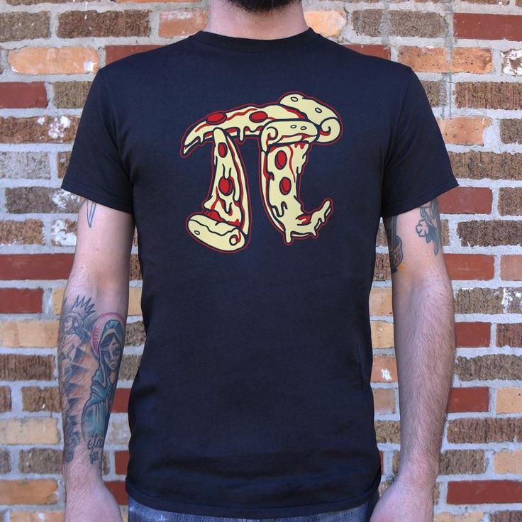 Mens Pizza Pi T-Shirt