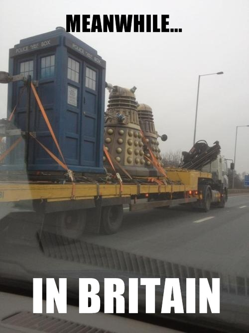 Meanwhile... In Britain