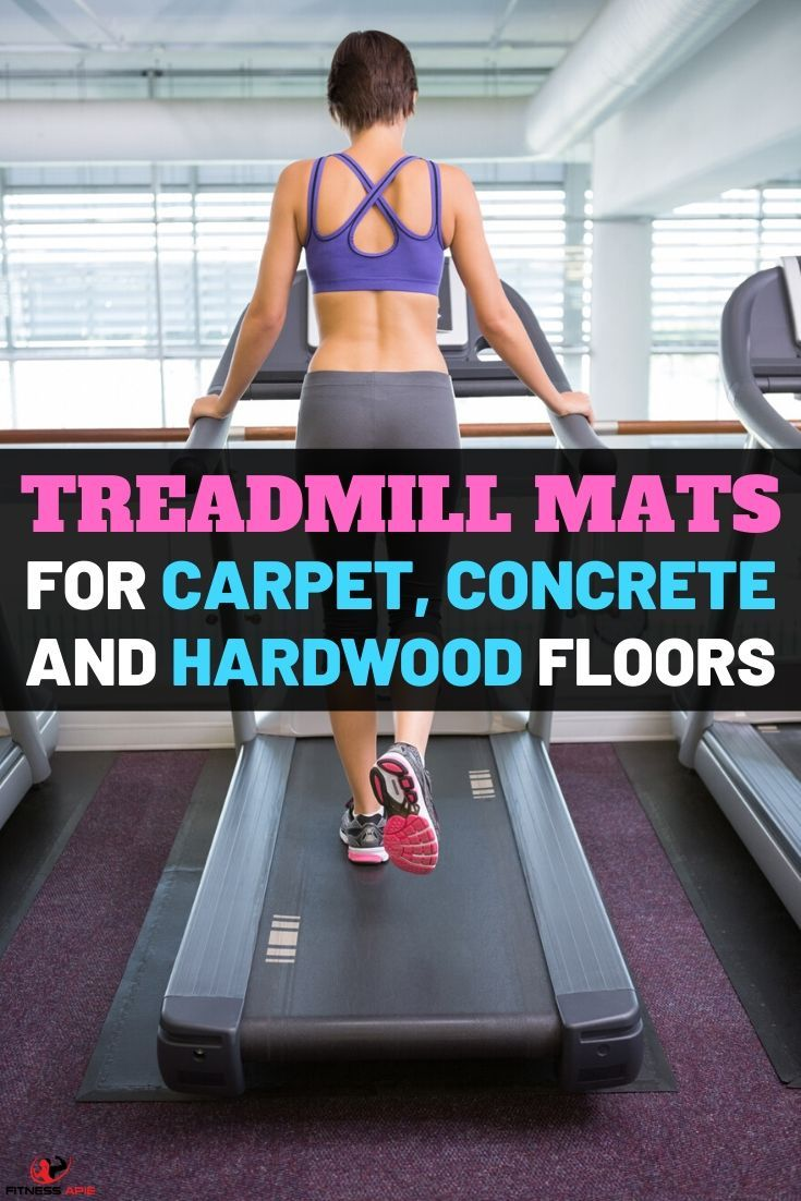 Best Treadmill Mats For Carpet Concrete And Hardwood Floors In