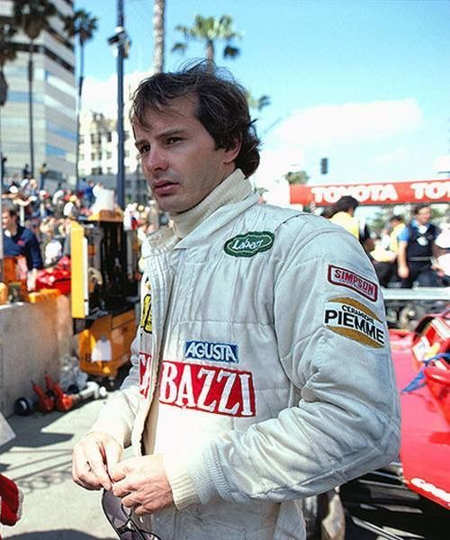 Gilles Villeneuve at Long Beach