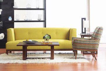 Dania October - modern - Living Room - Dania Furniture