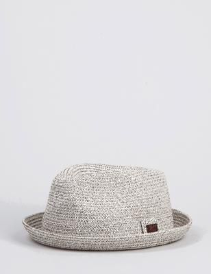 2306f86fc360a Bailey Billy Light Trilby Hat in White in 2019